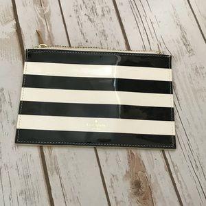 Kate Spade Black & White Pouch